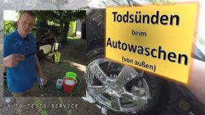 Auto waschen; Auto wachsen; Auto saugen; richtig polieren
