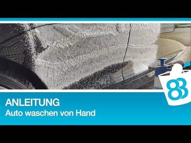 anleitung auto waschen von hand die richtige autopflege handwashonly 83metoo. Black Bedroom Furniture Sets. Home Design Ideas
